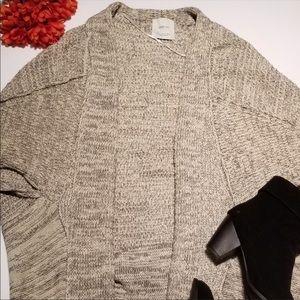 Zara knit soft cardigan sweater